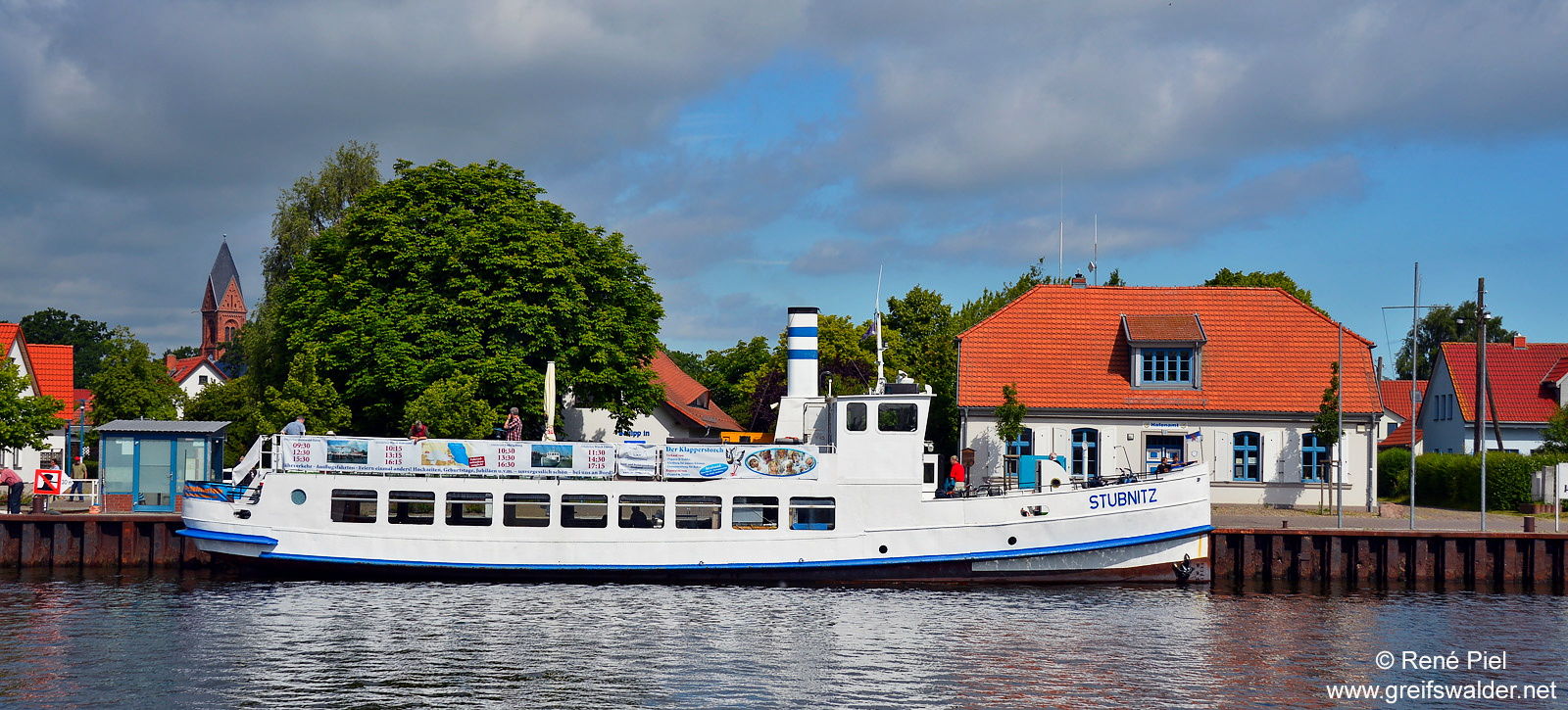 Fahrgastschiff MS Stubnitz in Greifswald-Wieck