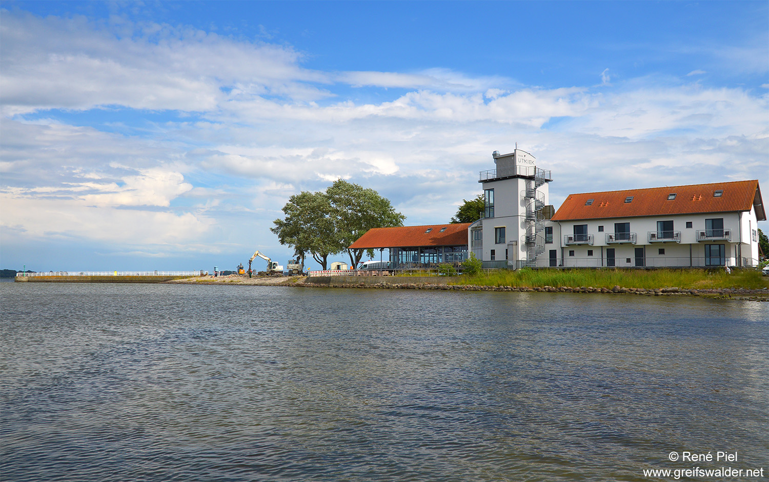 Am Utkiek in Greifswald-Wieck
