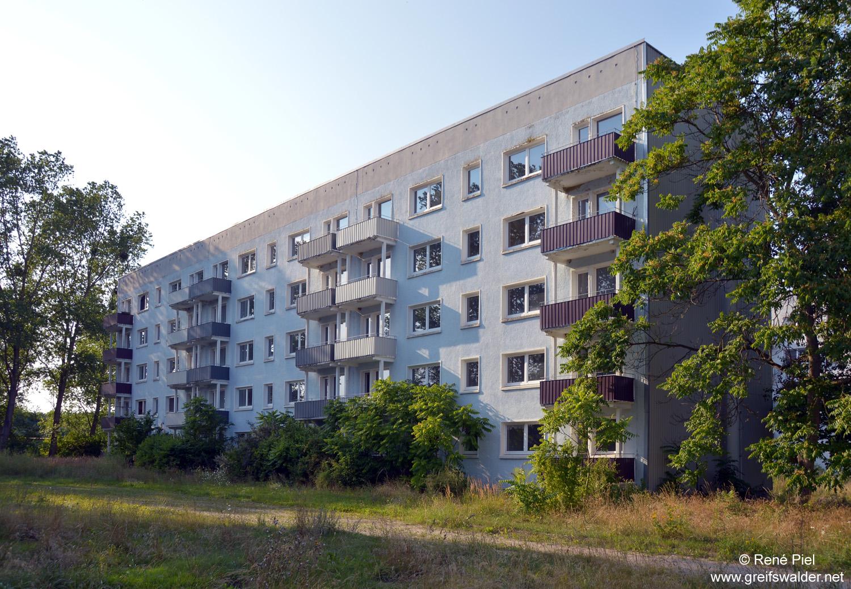 ehemalige Armeesiedlung in Basepohl am See