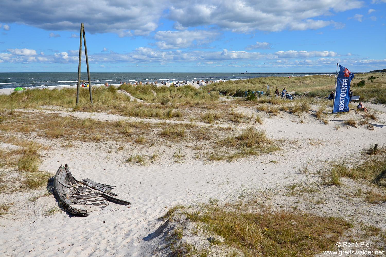 Prerow am Strand