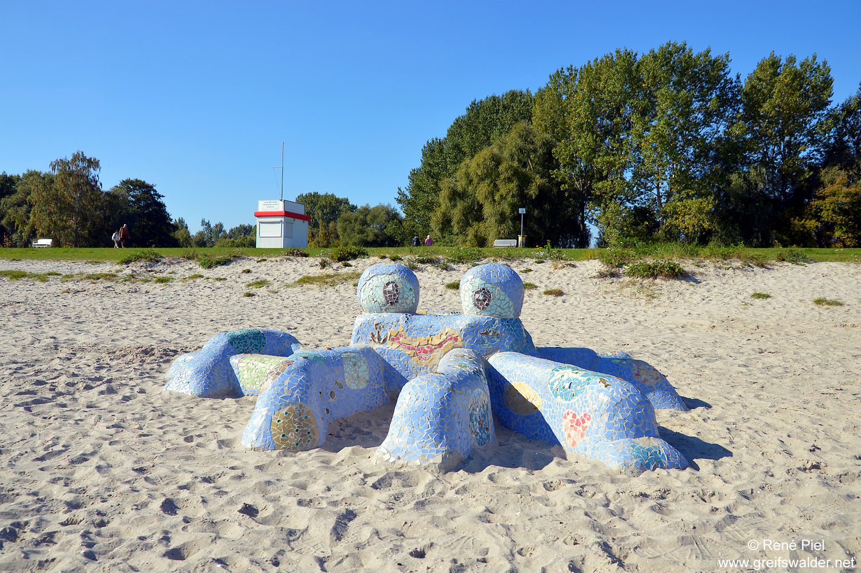 Strandbad Greifswald-Eldena im Oktober