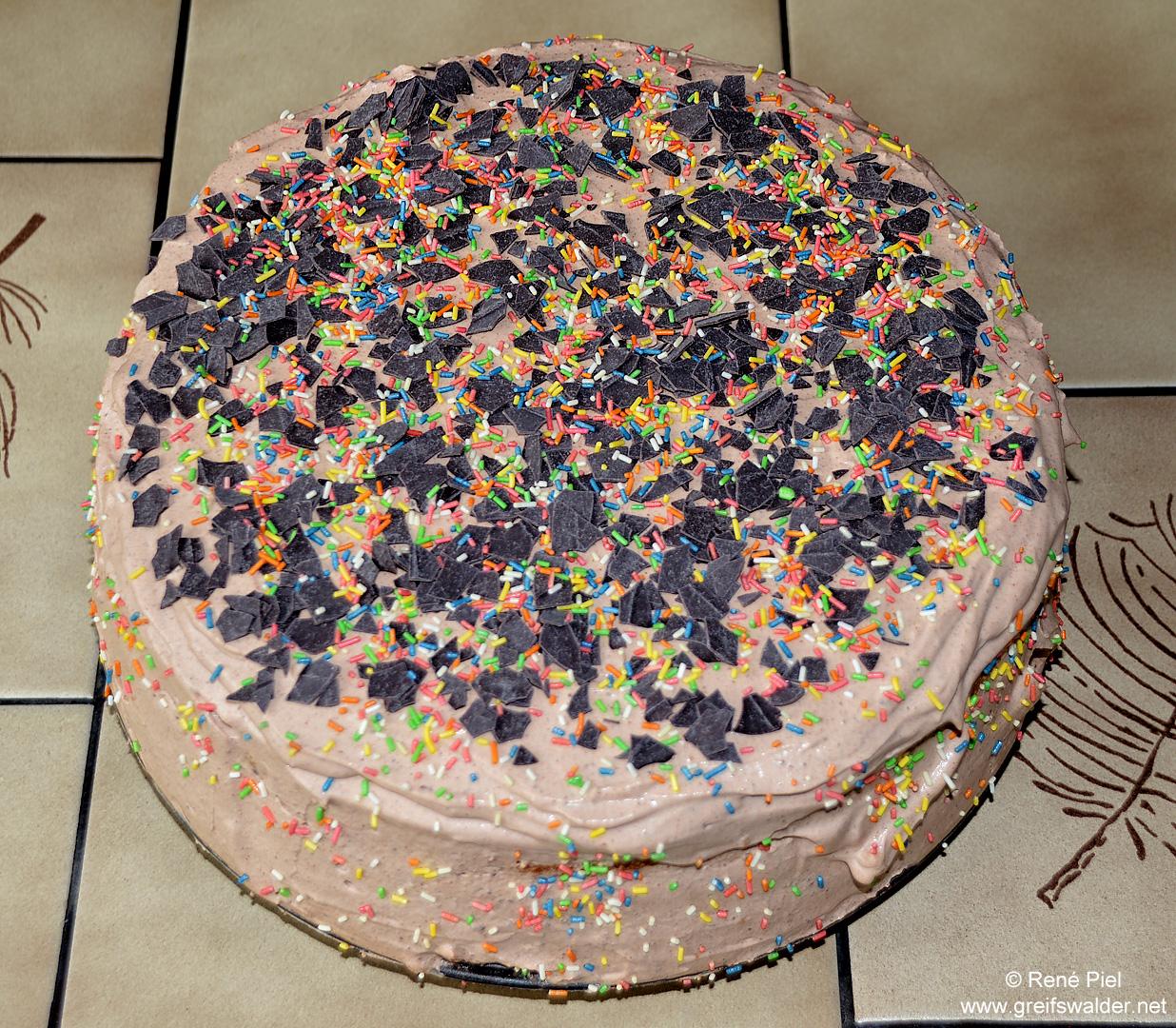 Schoko-Sahne-Torte