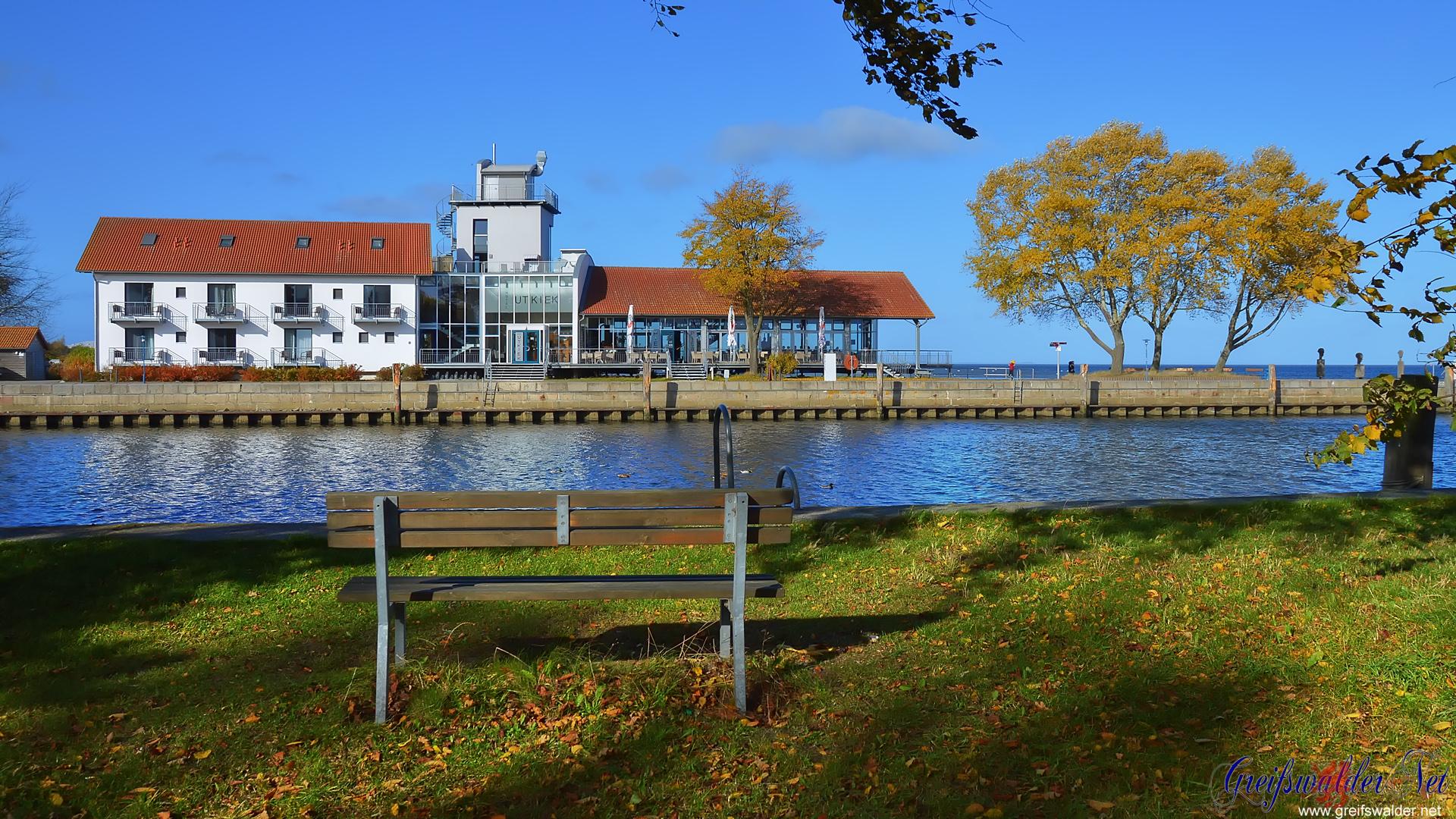 Herbststimmung am Utkiek in Greifswald-Wieck