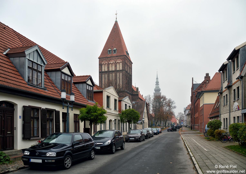 Domstraße in Greifswald