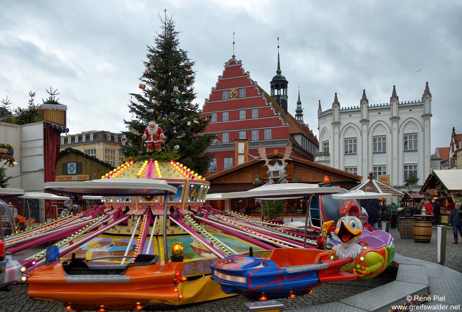 Weihnachtsmarkt in Greifswald