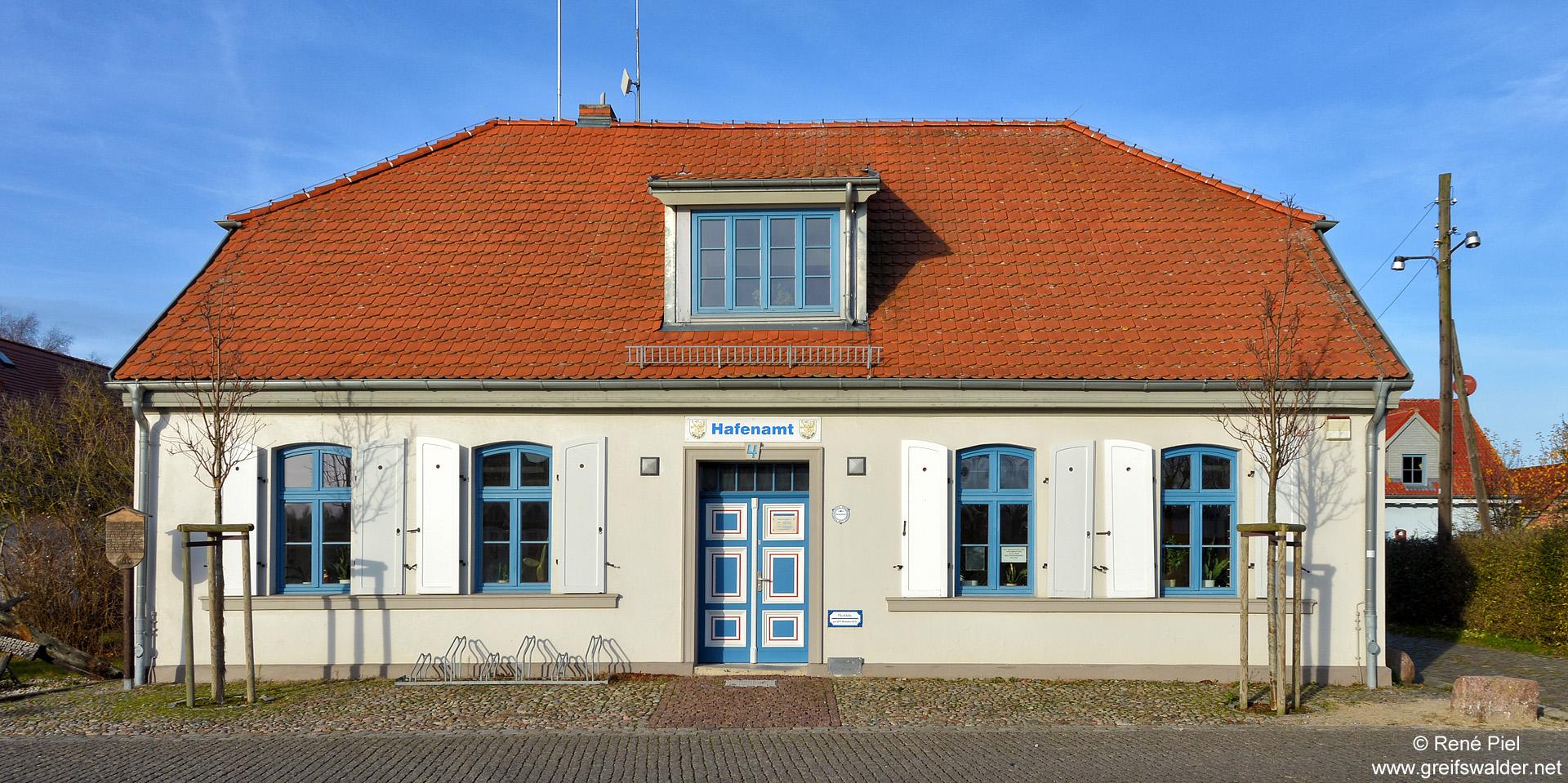 Hafenamt Greifswald-Wieck
