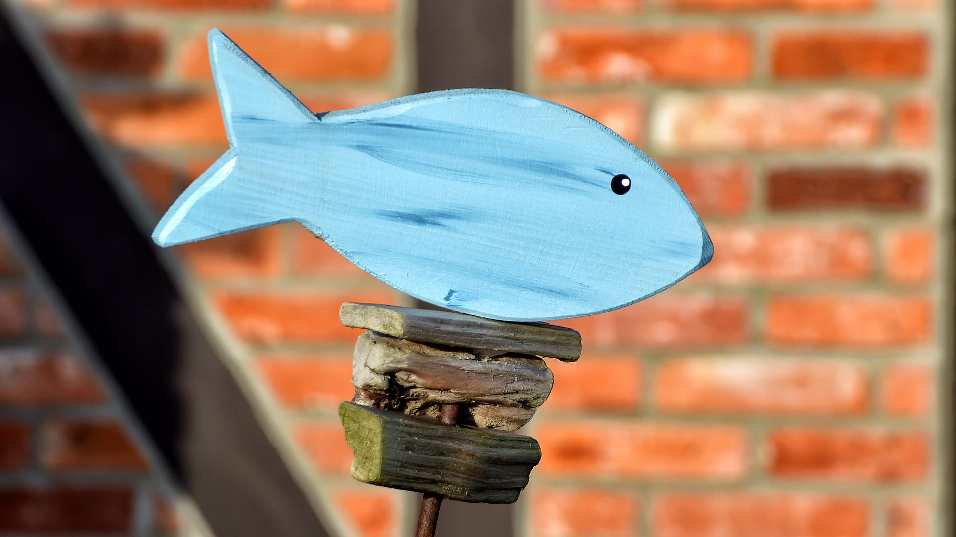 kleine Skulptur in Greifswald-Wieck