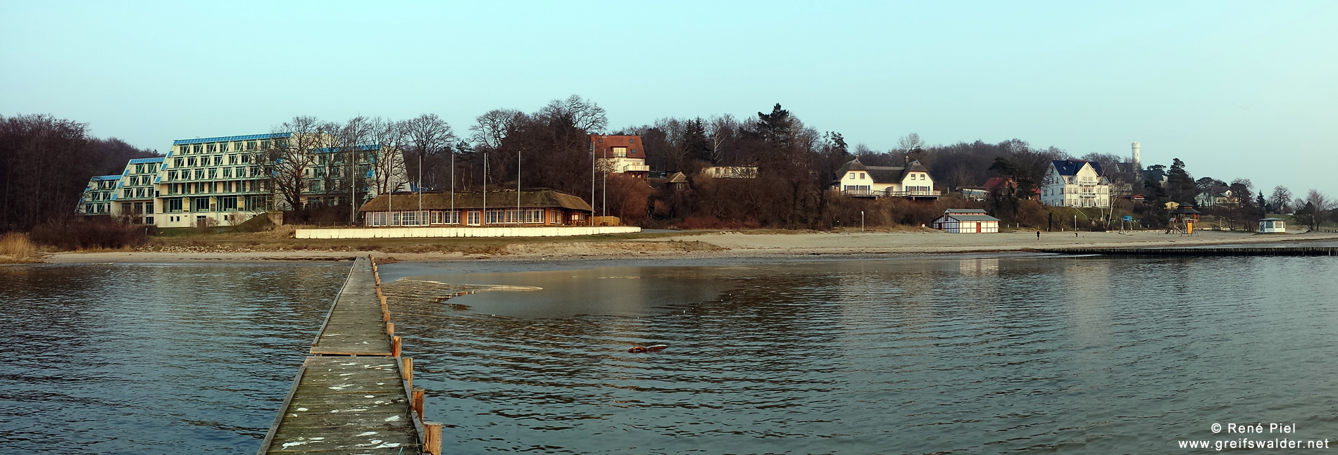 Panorama - Lietzow (Kleiner Jasmunder Bodden)