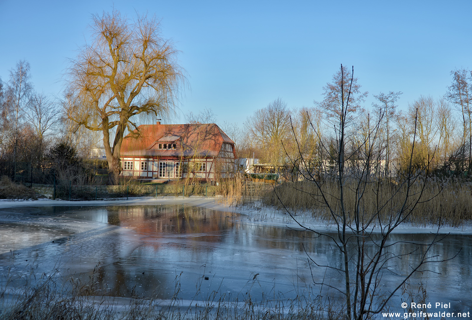Haus am Ryck in Greifswald