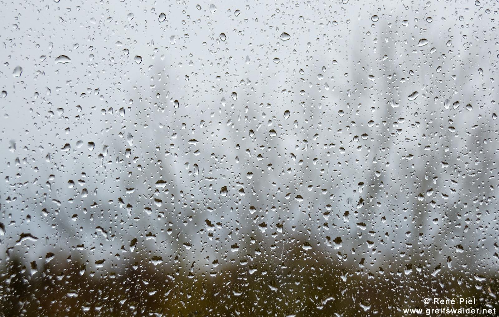 ... und jetzt Regen