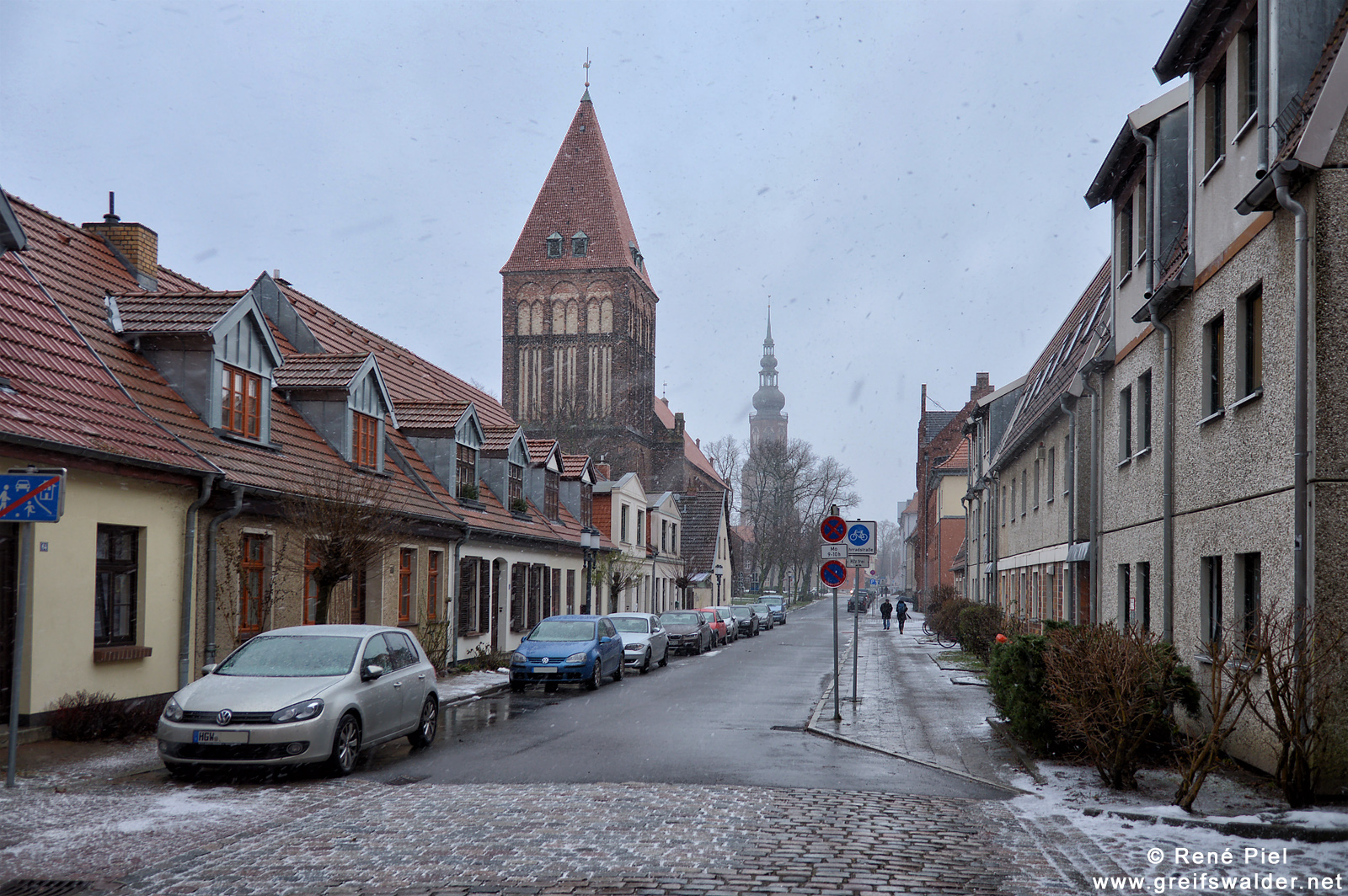 Schmuddelwetter in Greifswald