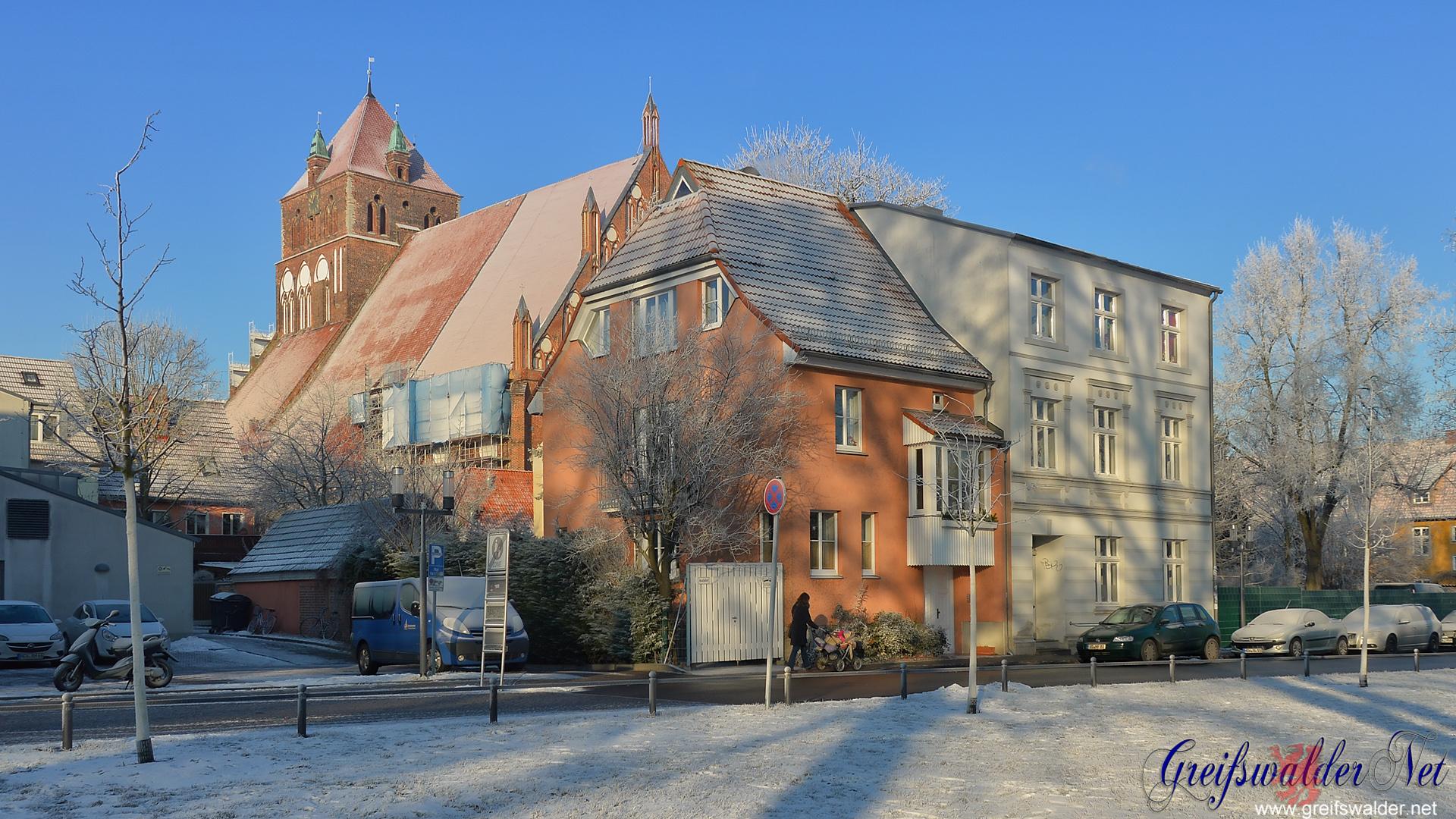 Marienkirche im Winter
