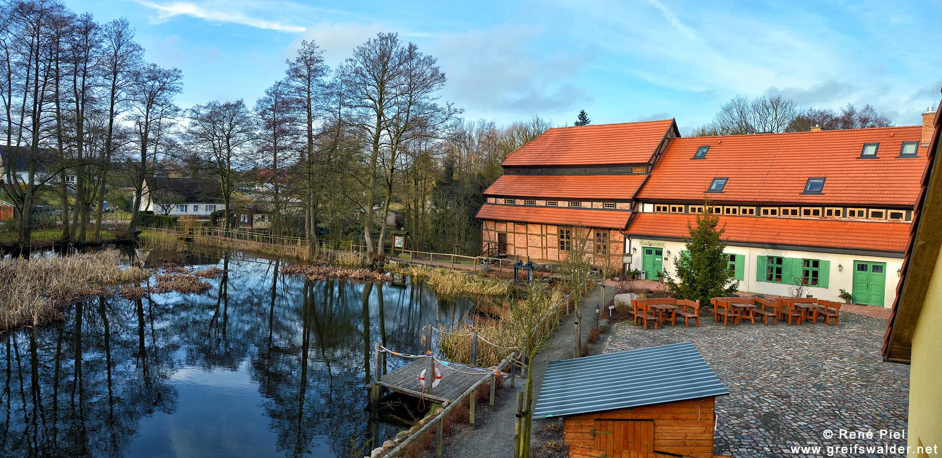 An der Wassermühle Hanshagen