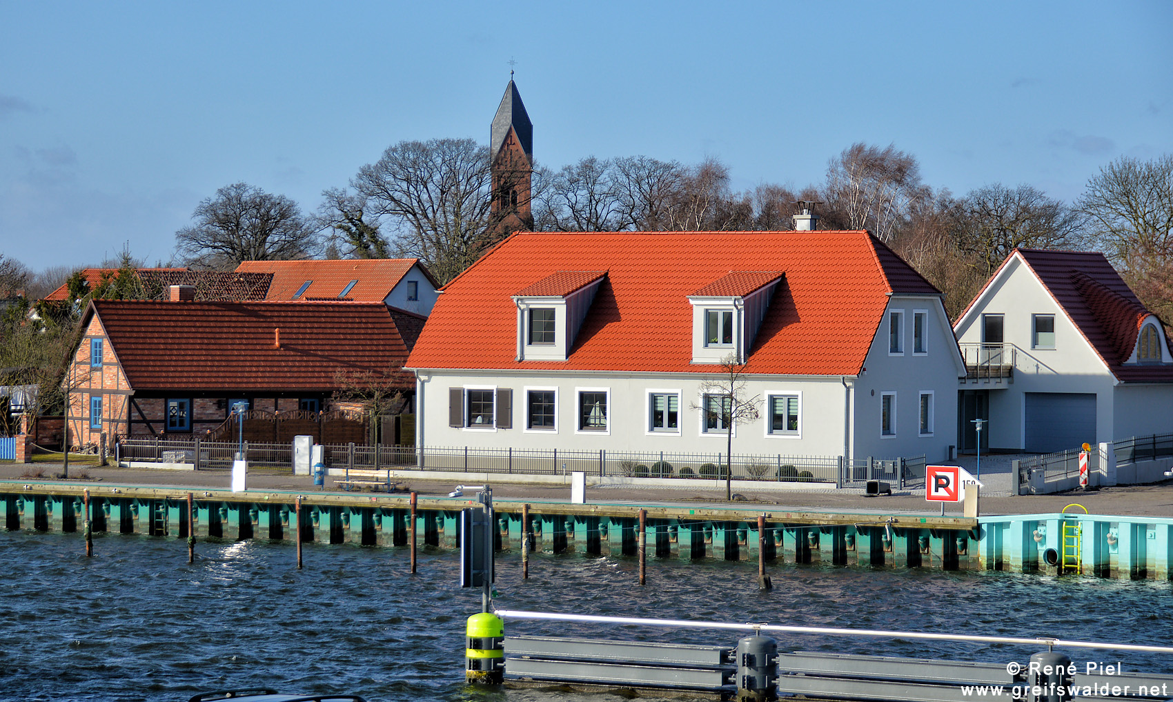 Am Ryck in Greifswald-Wieck