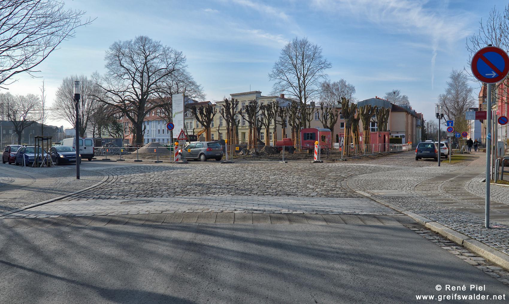 Karl Marx Platz Greifswald