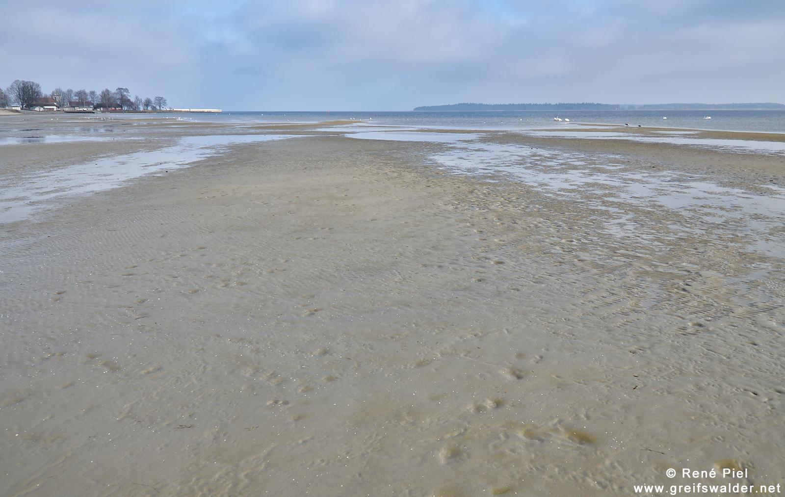 Am Strand in Greifswald-Eldena