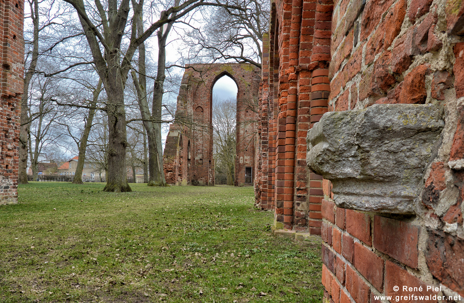 Klosterruine in Greifswald-Eldena