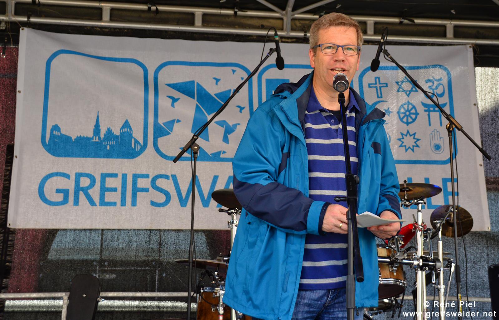 Dr. Stefan Fassbinder - Oberbürgermeister der Universitäts- und Hansestadt Greifswald