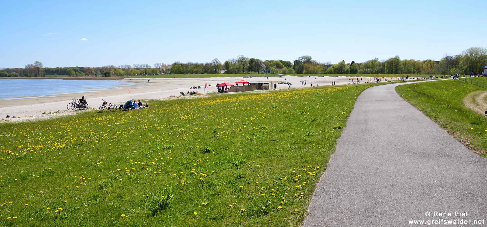 Herrentag - Strandbad Greifswald-Eldena gut besucht