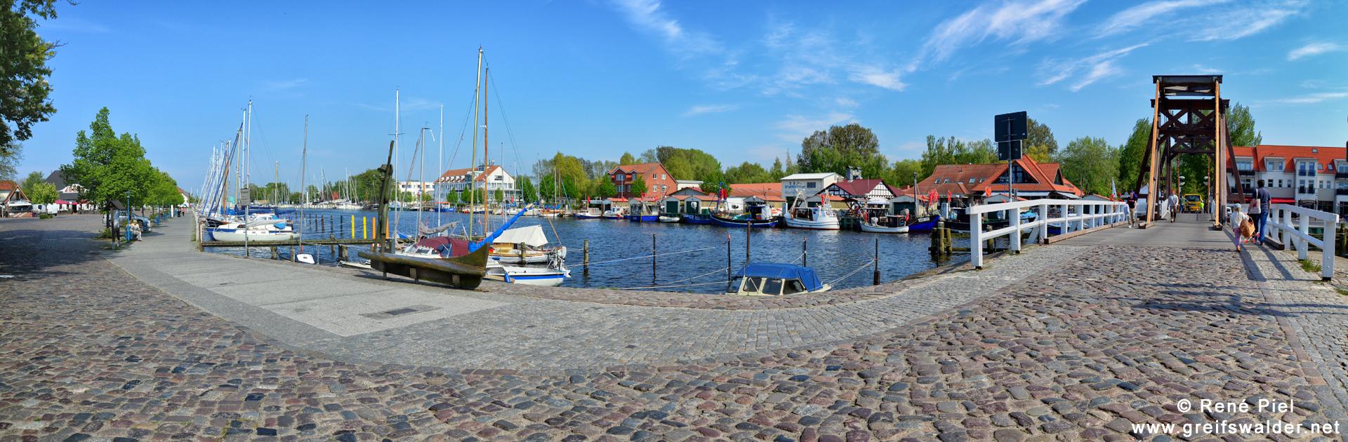 Greifswald-Wieck - An der Brücke