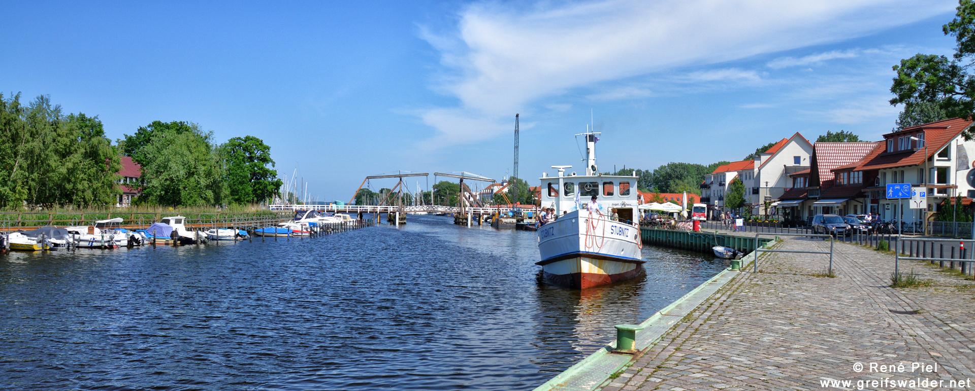MS Stubnitz in Greifswald-Wieck