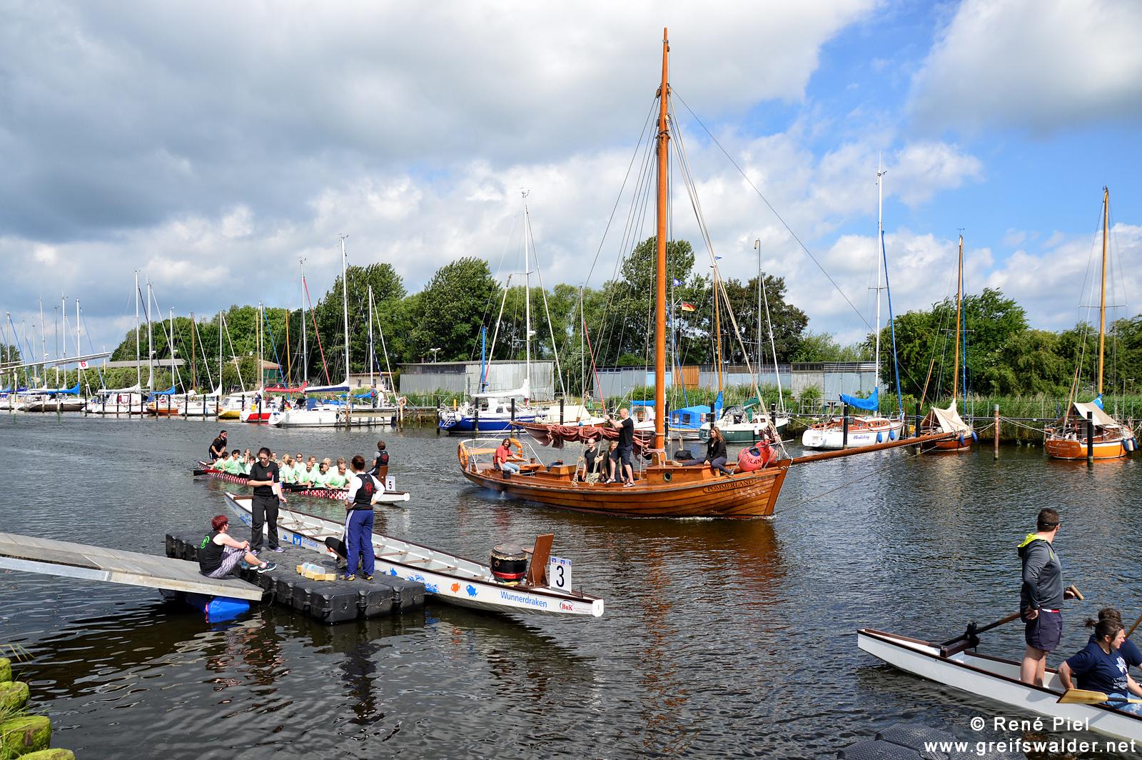 15. Greifswalder Drachenbootfest
