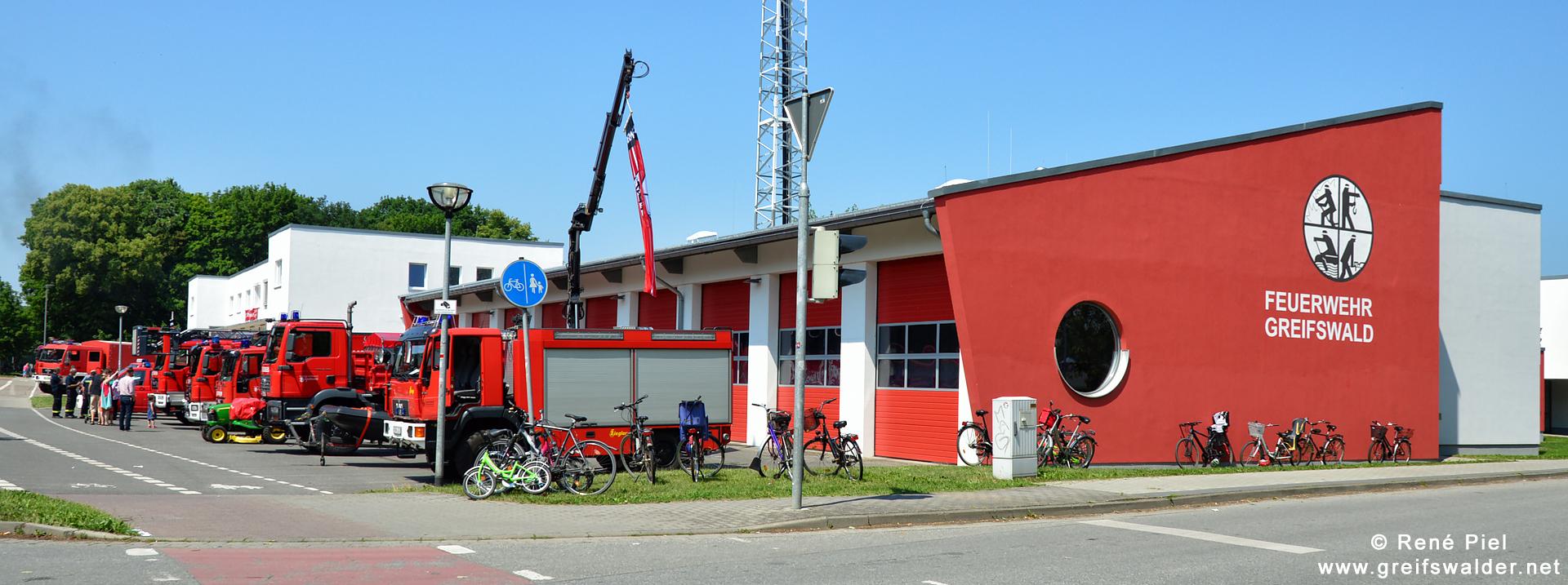 Feuerwehr Greifswald - Tag der offenen Tür (2016)