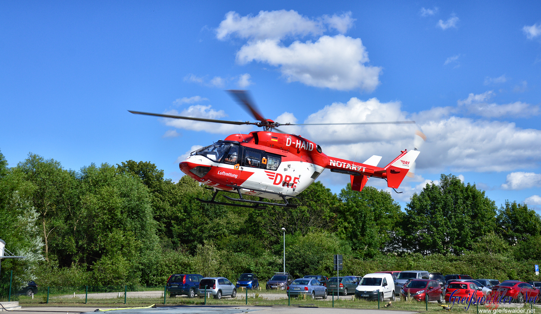 Rettungshubschrauber Christoph 47 im Einsatz