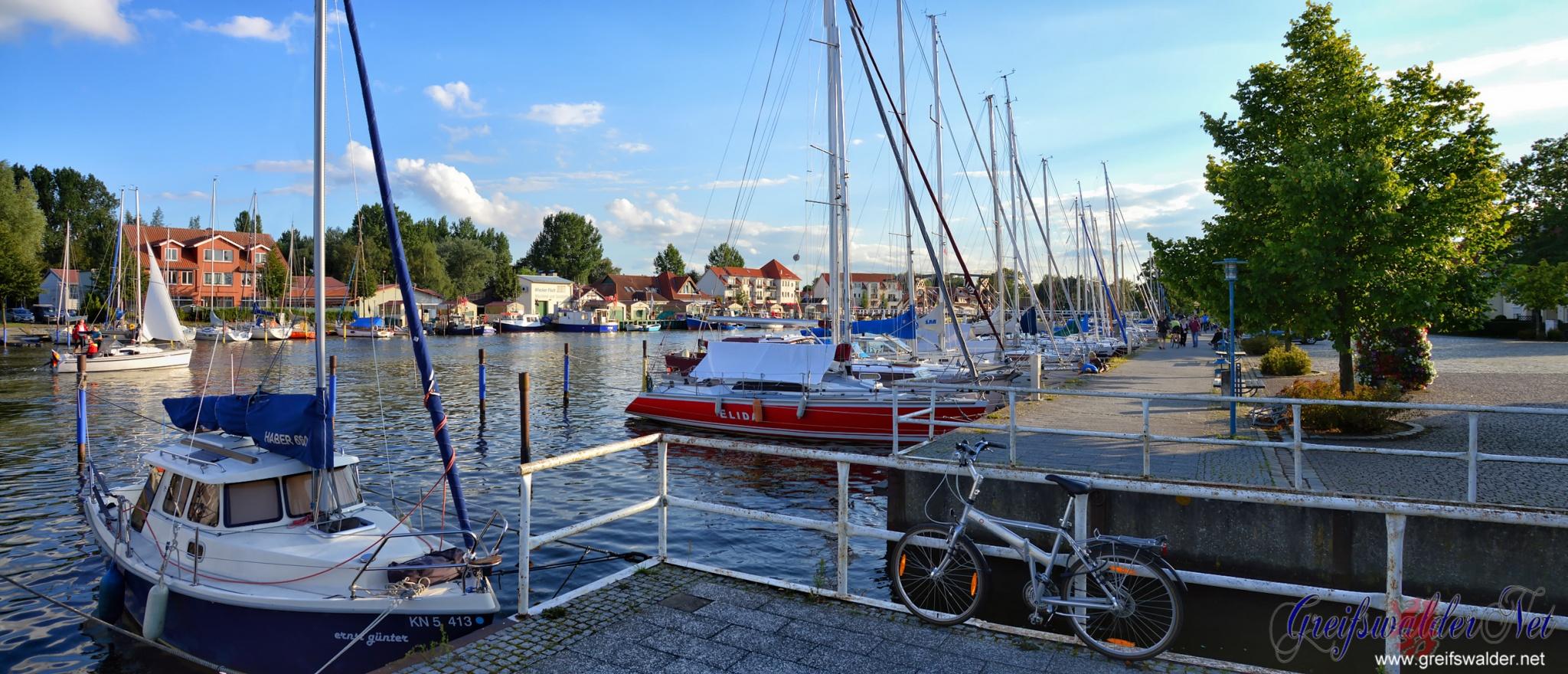 Abend in Greifswald-Wieck
