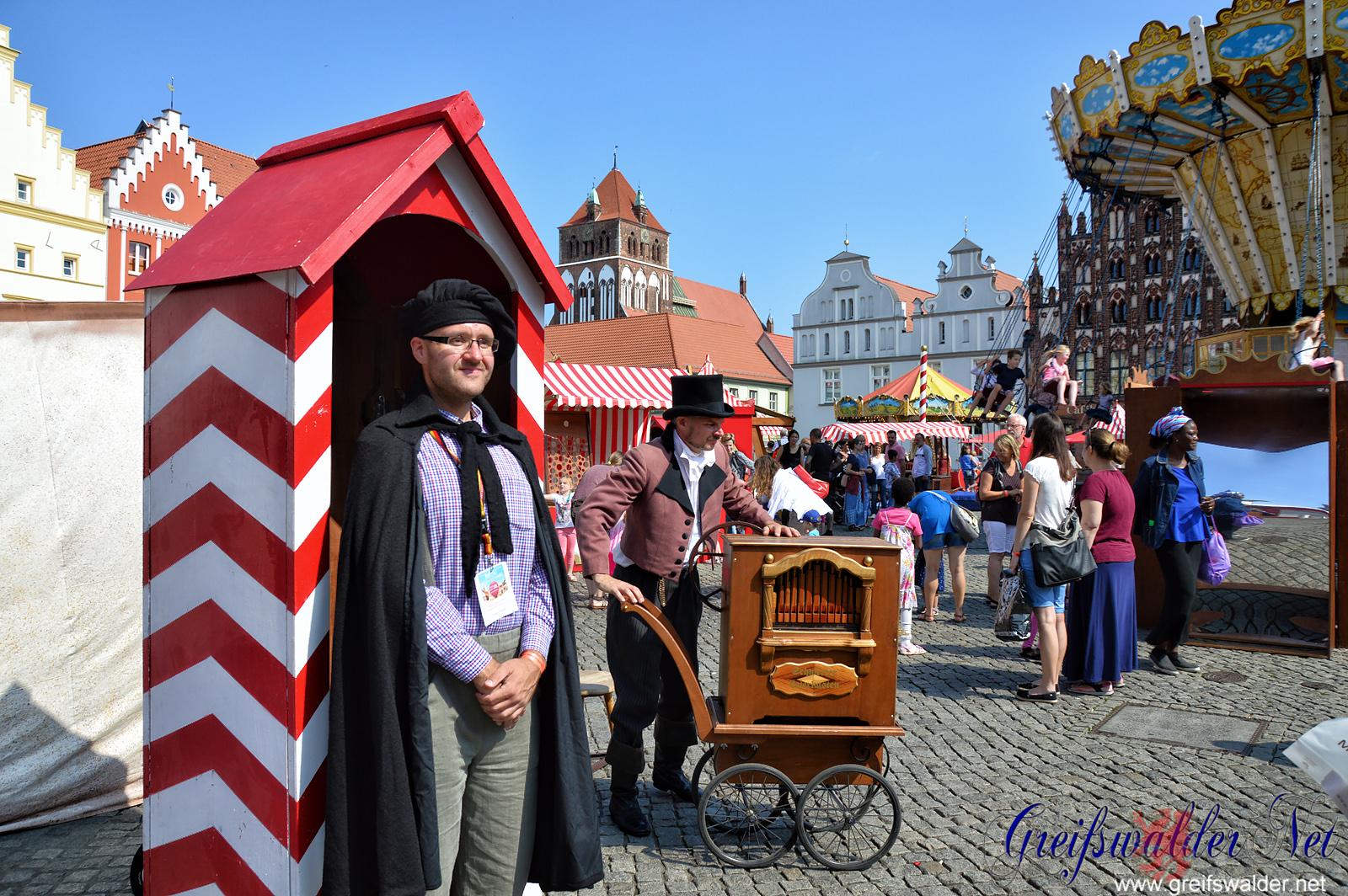 """Historisches Stadtfest: """"Ein Tag mit Caspar David Friedrich"""""""