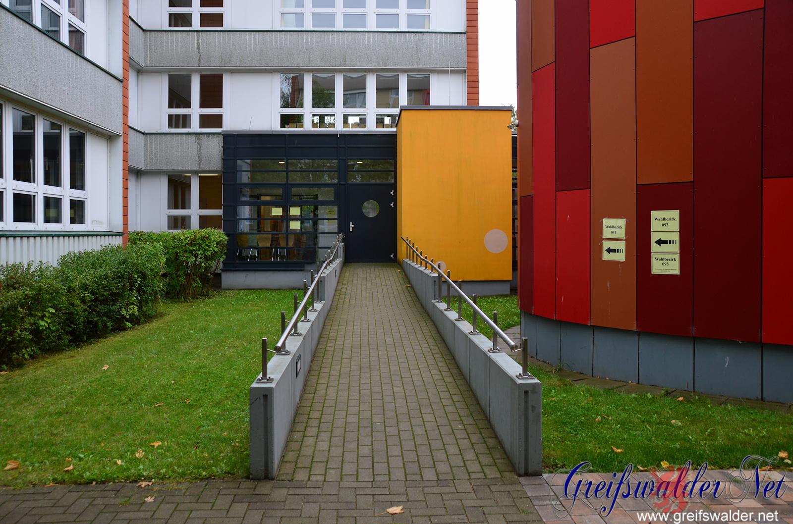 Wahlsonntag in Greifswald