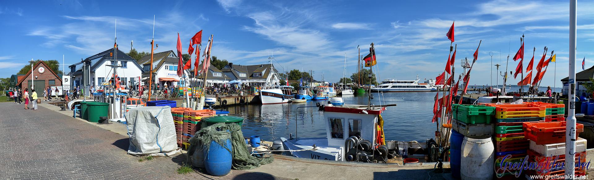Hafen Vitte (Insel Hiddensee)