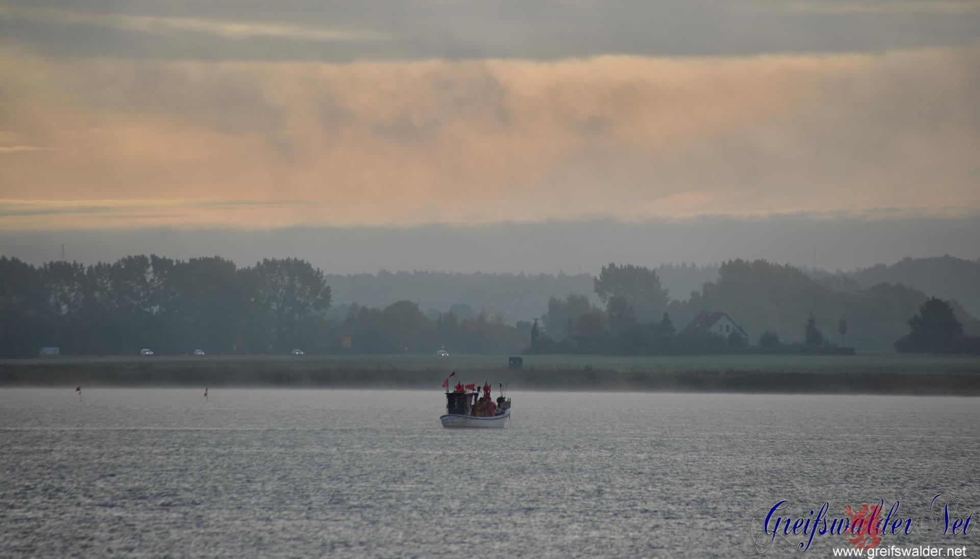 Fischer auf der Dänischen Wiek