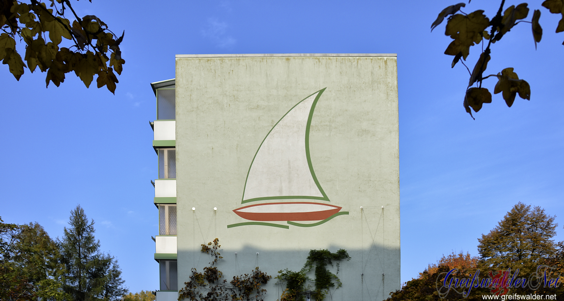 Fassade maritim