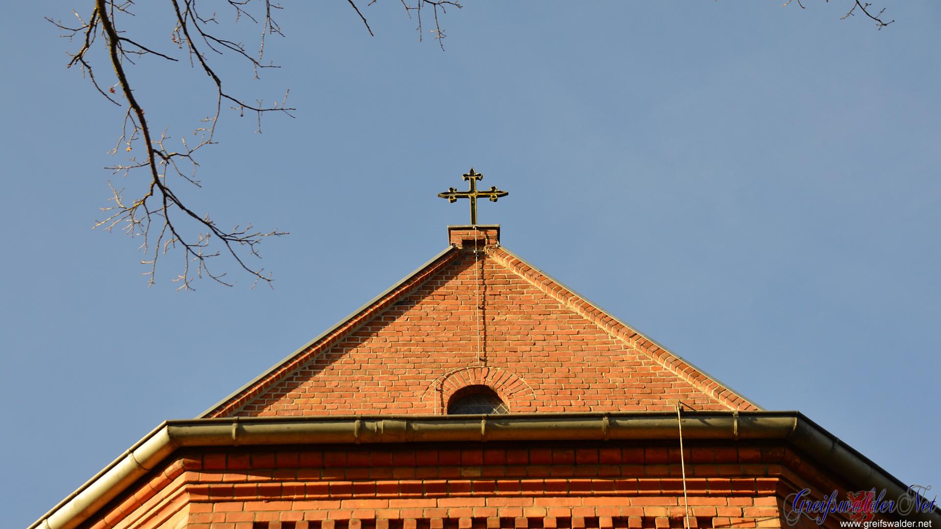 Kirche in Greifswald-Wieck