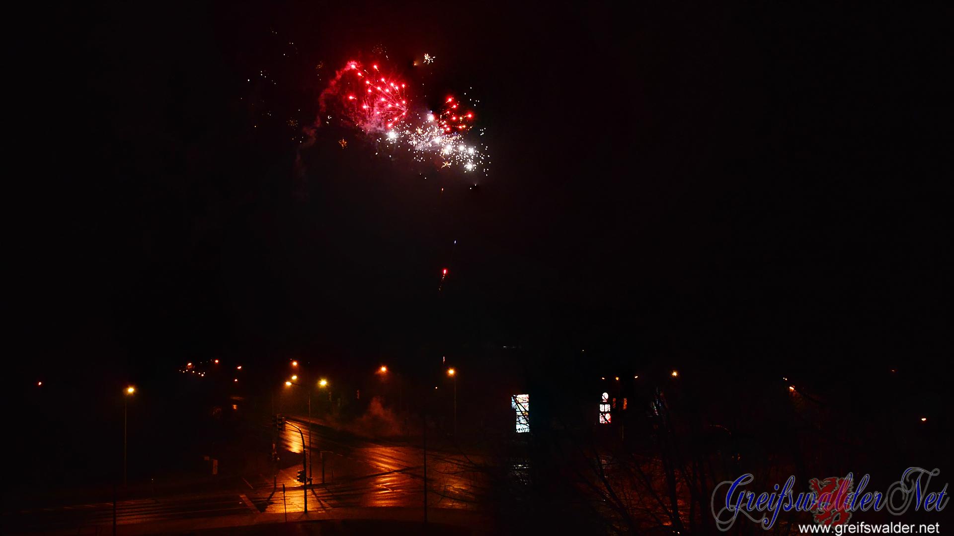 Feuerwerk 2017 in Greifswald