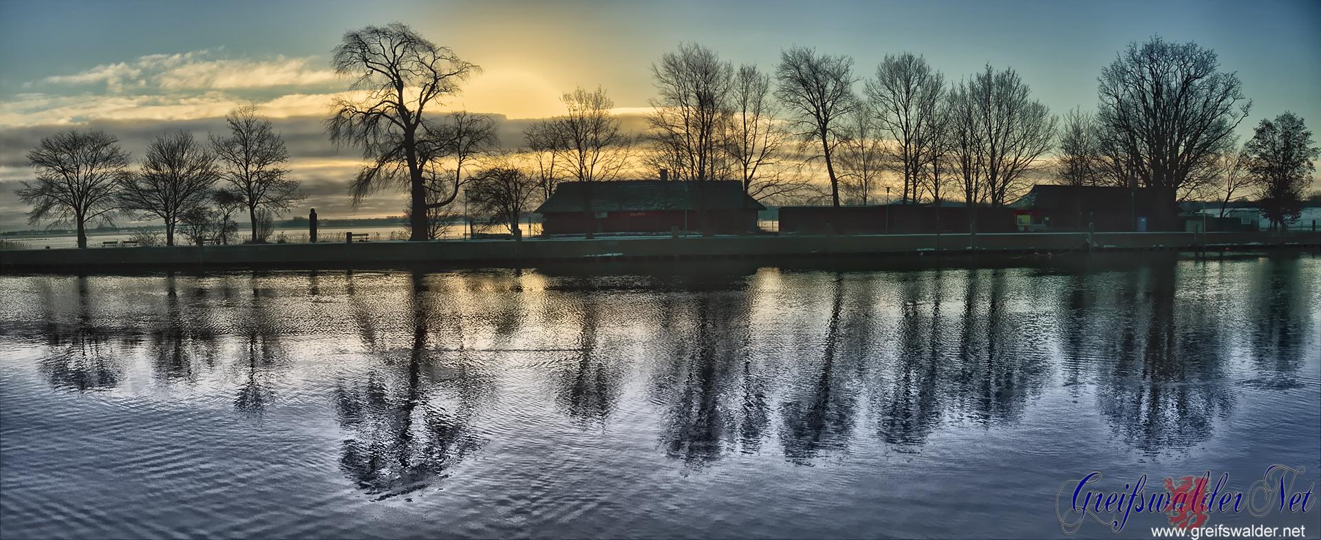 Ryck in Greifswald-Wieck