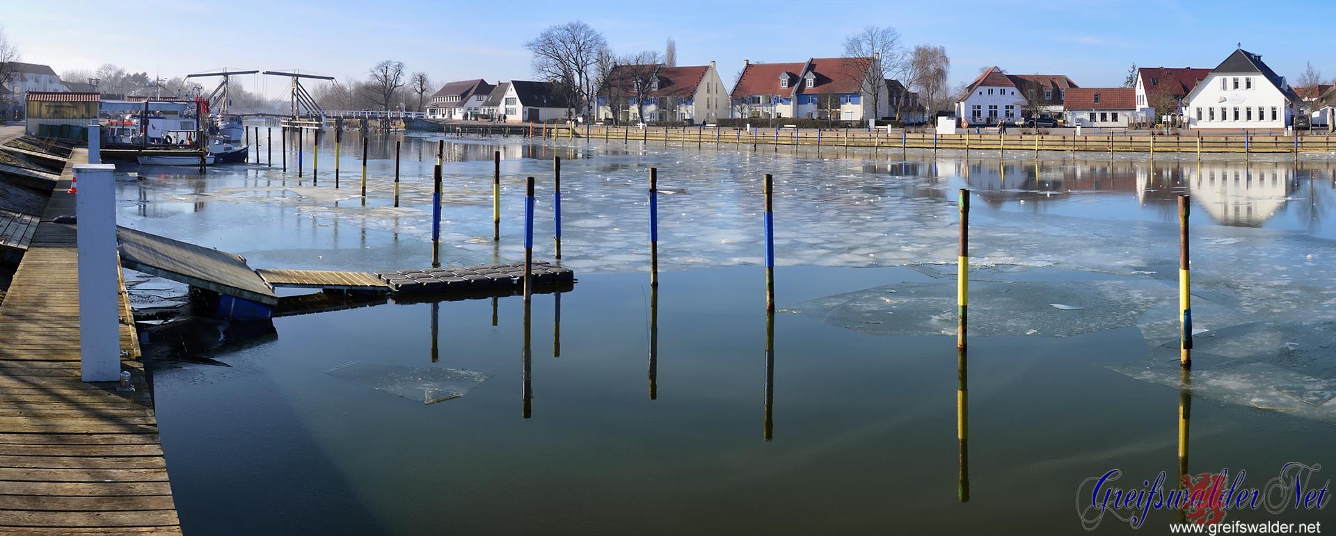frostig in Greifswald-Wieck