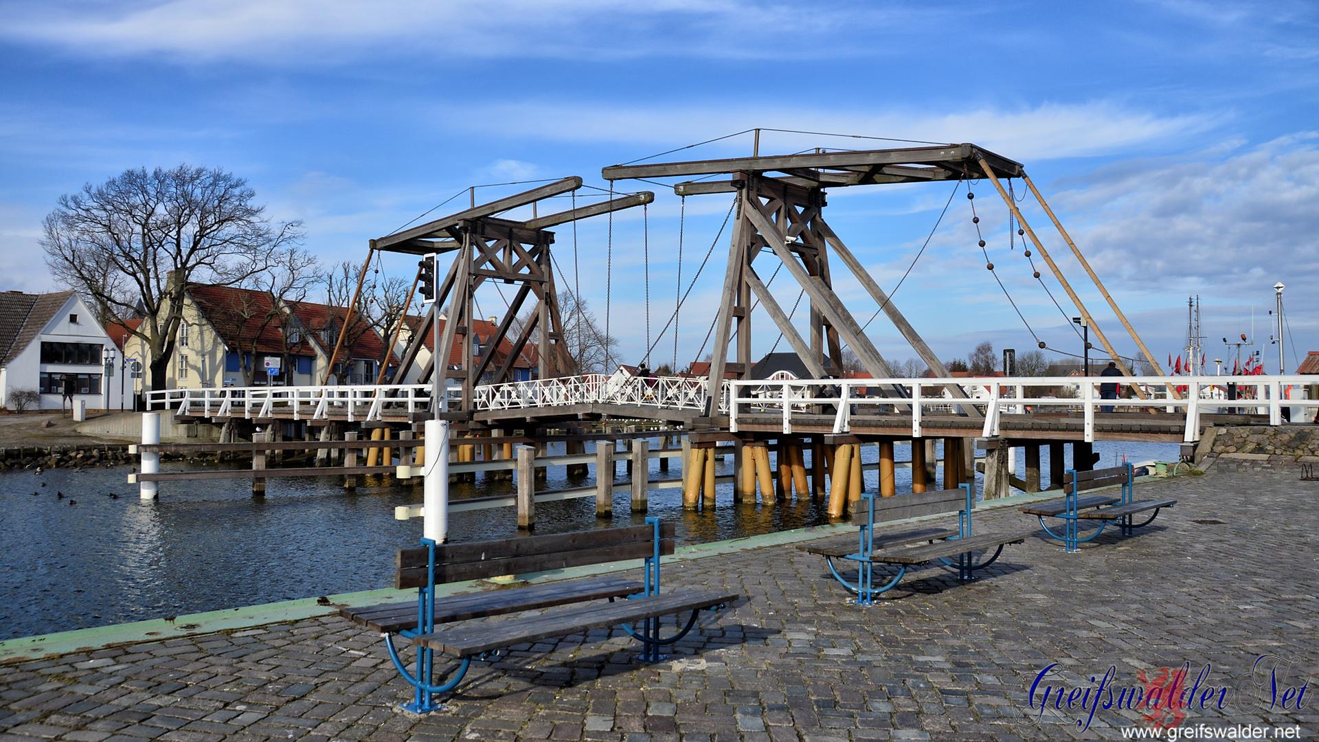 Brücke in Greifswald-Wieck