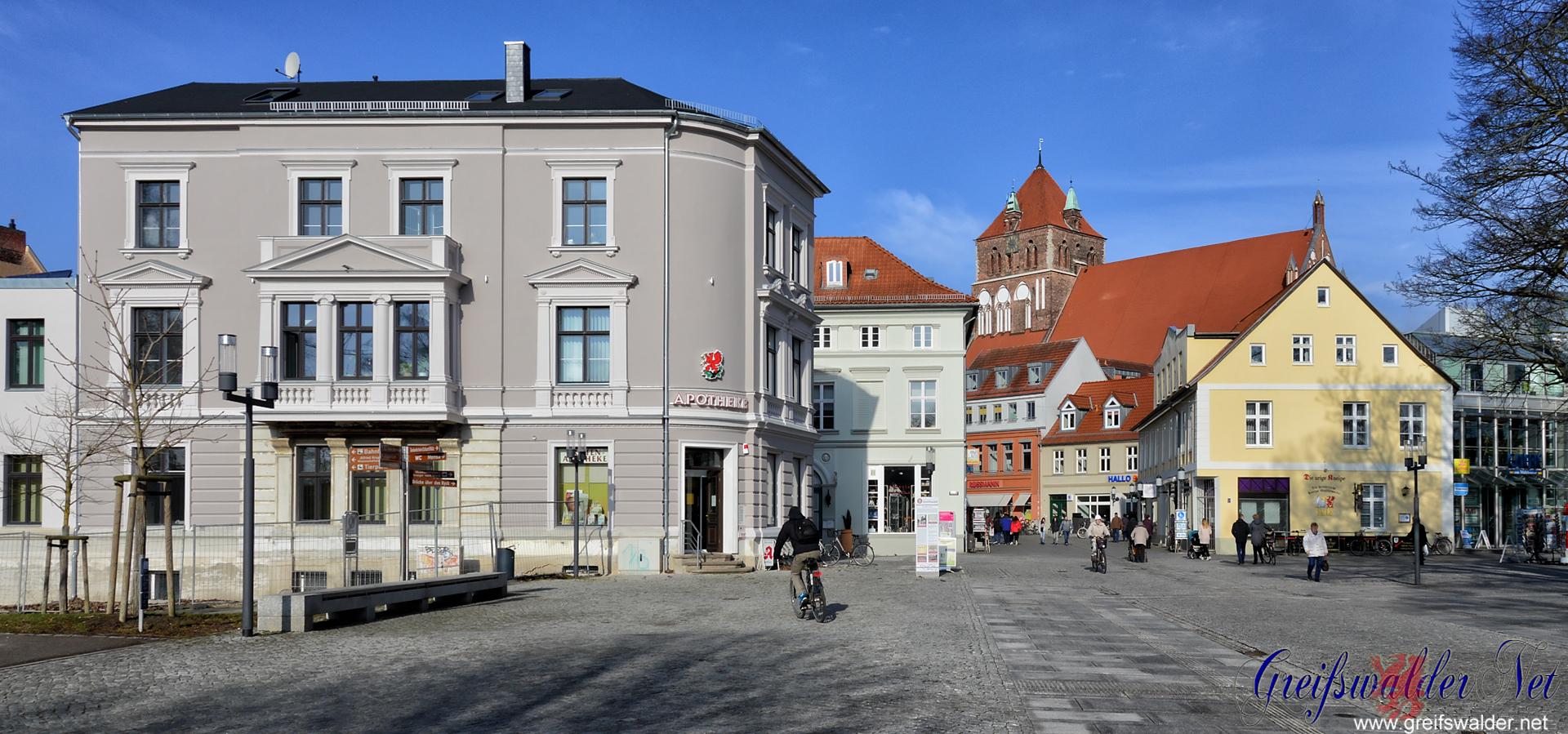 Am Mühlentor in Greifswald