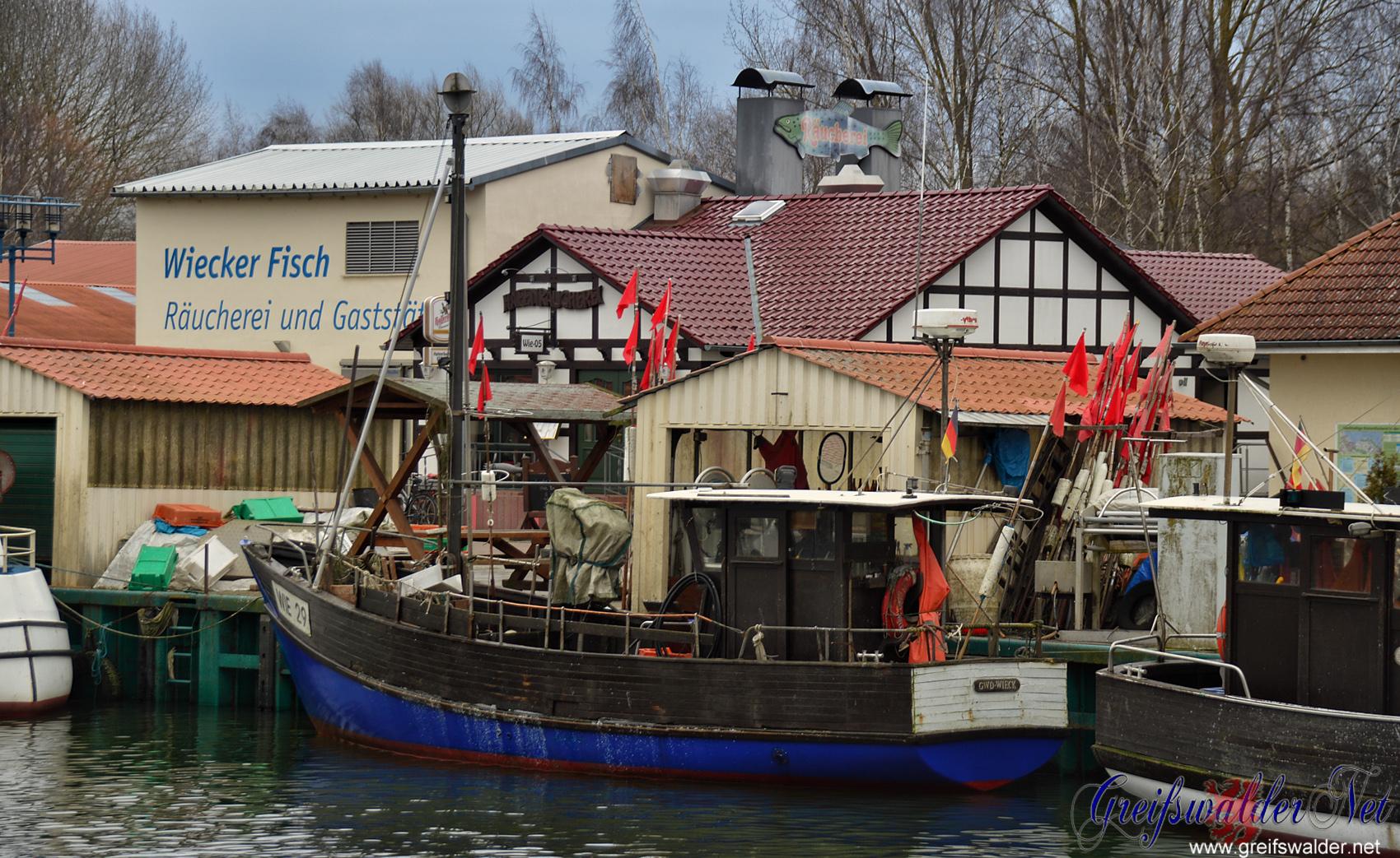 Fischerei in Greifswald-Wieck