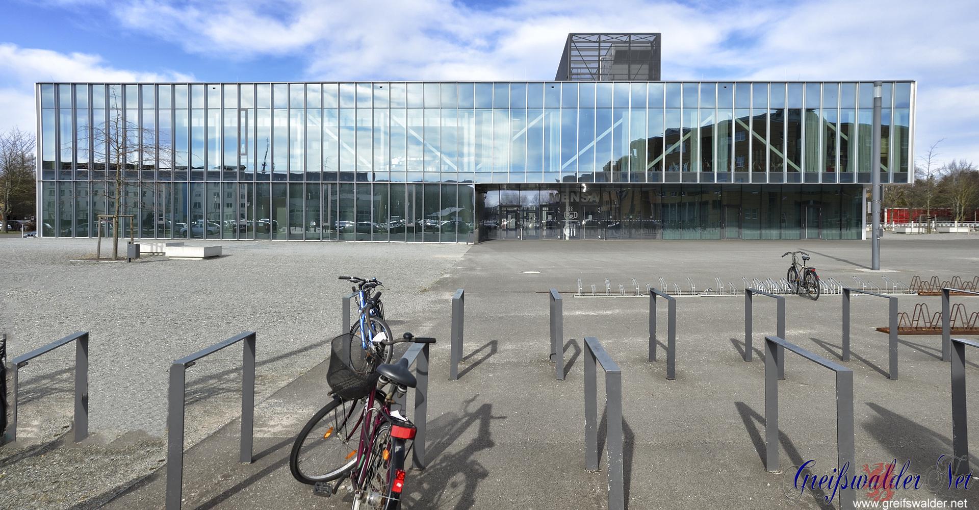 Mensa am Berthold-Beitz-Platz in Greifswald