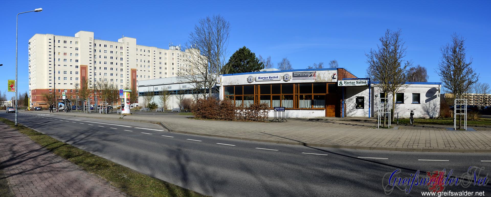 """Harter Sattel"" in Greifswald"