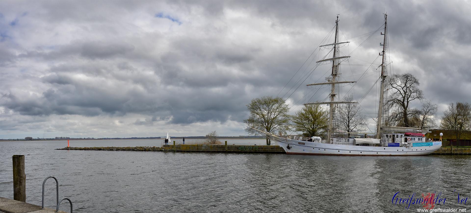 Ostersonntag-Nachmittag in Greifswald-Wieck