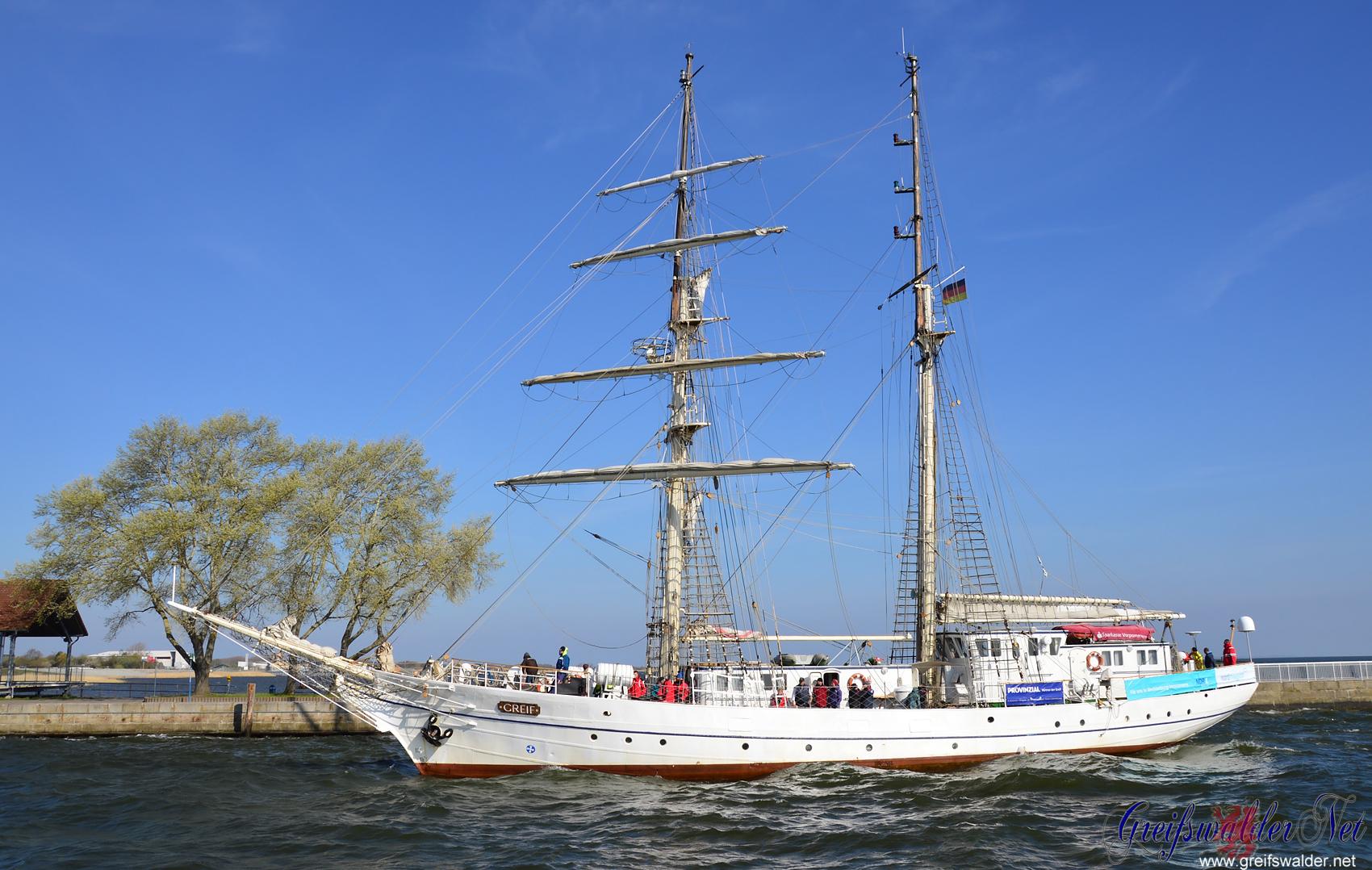 """Segelschulschiff """"Greif"""" - Heimkehr nach großer Fahrt"""