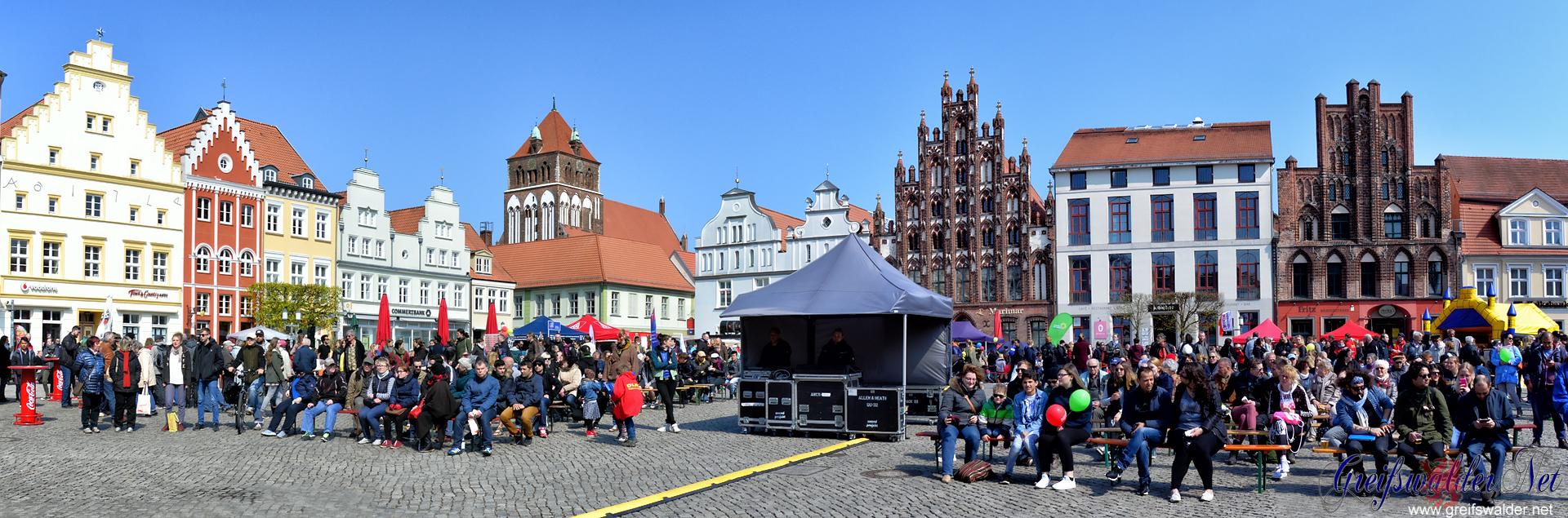 Kulturfest am 1. Mai in Greifswald