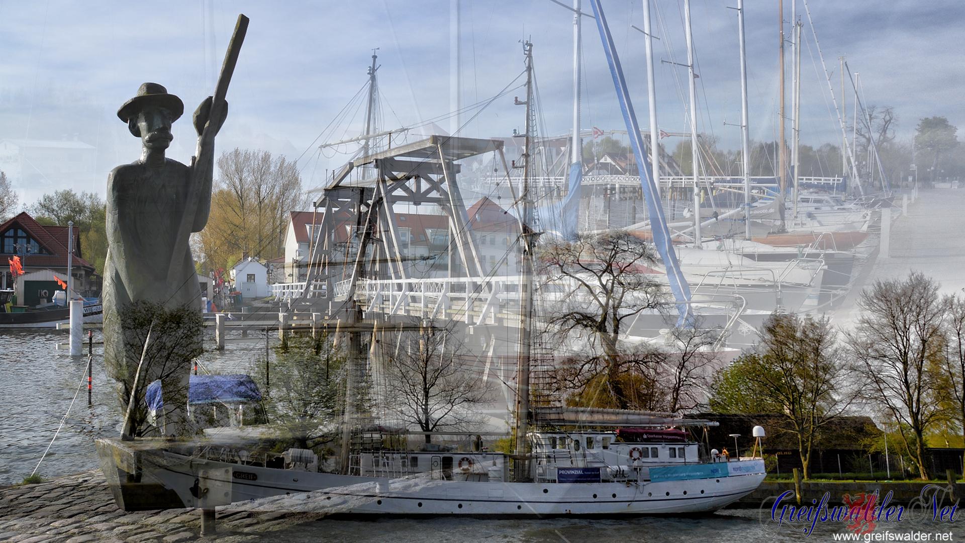 Greifswald-Wieck (Fotomontage)