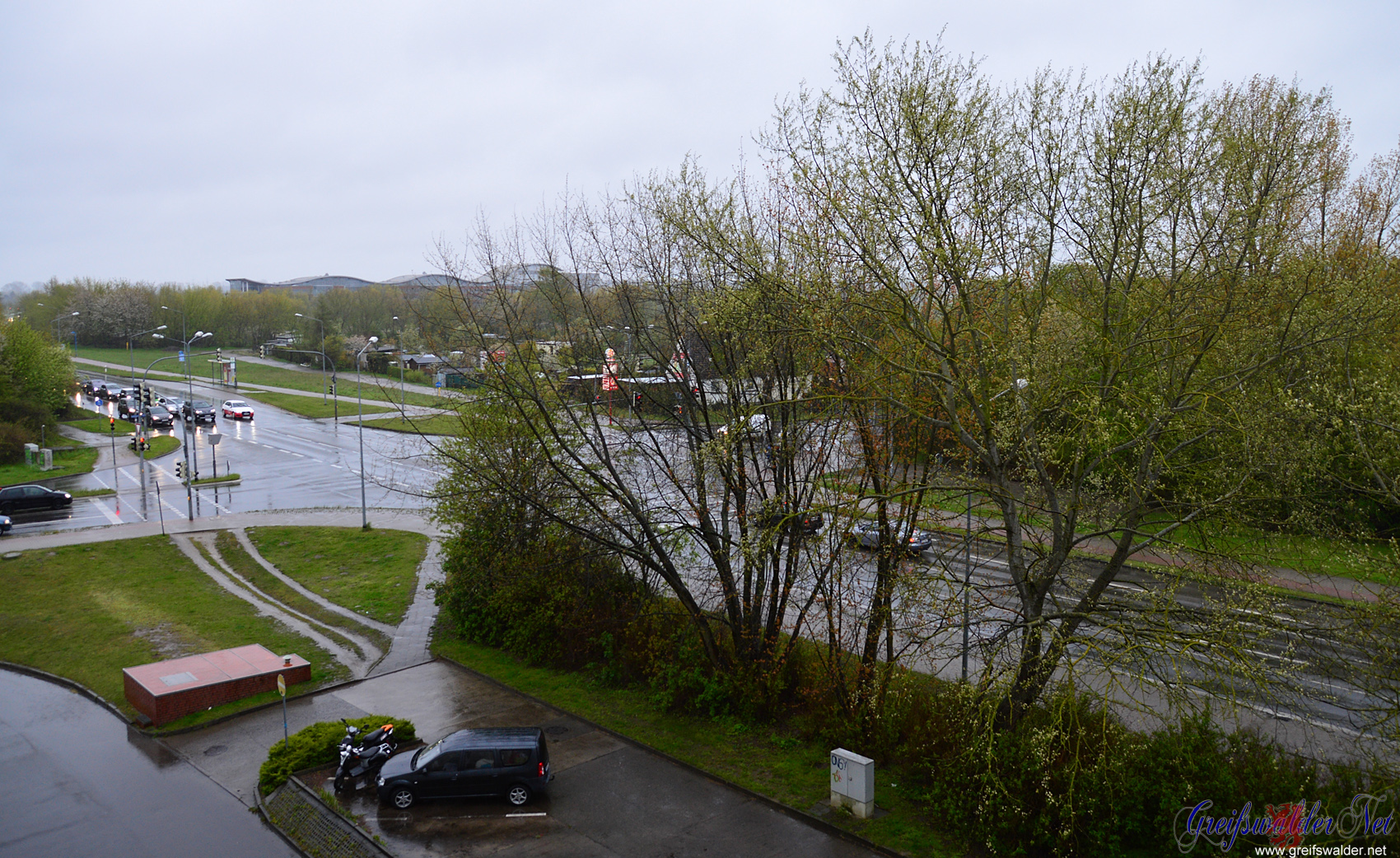 Freitagmorgen in Greifswald
