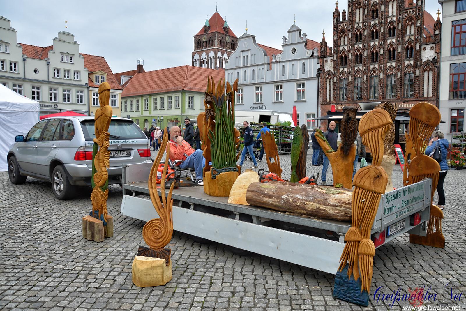 Gartenmarkt 2017 in Greifswald