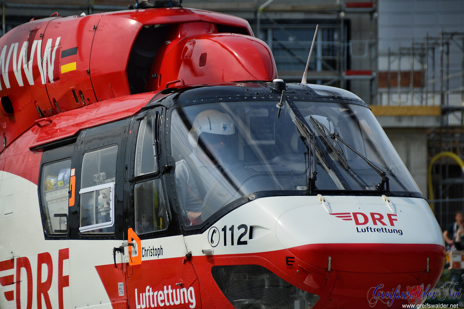 Rettungshubschrauber Christoph 47 startet